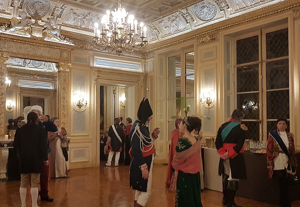 Soirée impériale au Palais Vivienne, chez Pierre-jean Chalençon